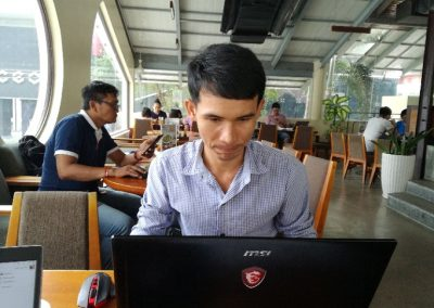 Woonruimte Cambodjaanse studenten
