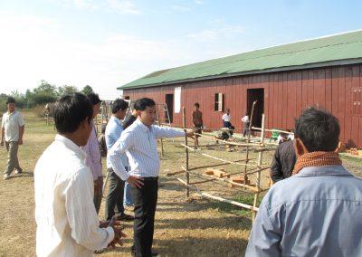 Bau von Schulen